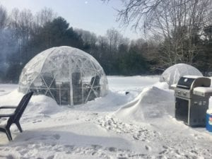 Picture of a plastic igloo