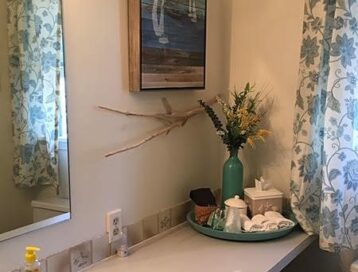 Image of Pine Room's Bathroom with Stall Shower