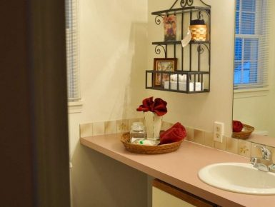 Image of Cherry Room Bathroom with Stall Shower
