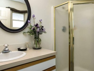 Image of Tamarack Bathroom with a Stall Shower