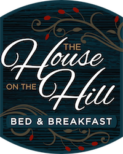 logo for the house on the hill bed & breakfast, a romantic bed & breakfast in Northern Michigan near Charlevoix