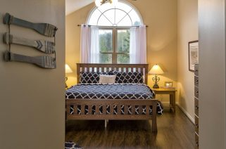 Pine Room with King Bed and Large Window