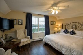 Image of the Rose Room-King Bed and Lake View