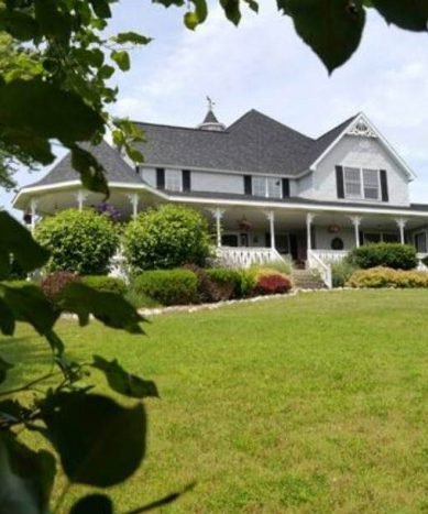 romantic northern michigan bed & breakfast - the house on the hill